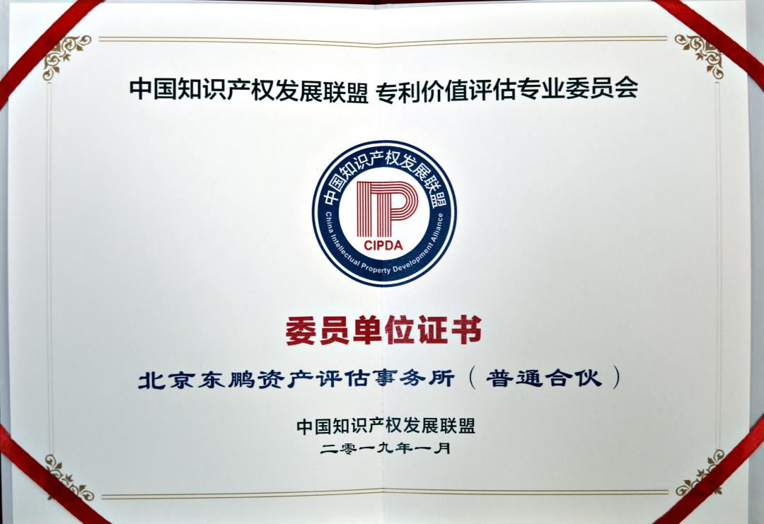 专利价值评估专业委员会