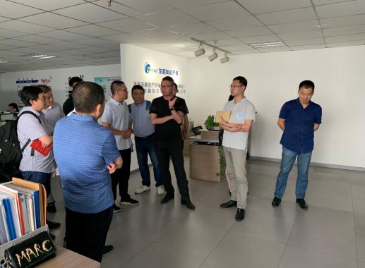 温州市知识产权局一行到访北京东鹏河南分公司