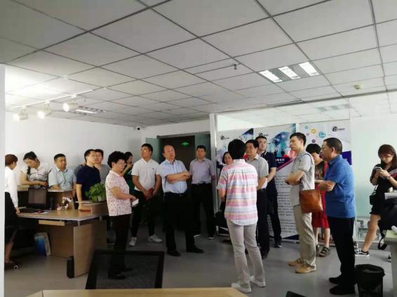 河南省服务外包示范园区综合评价工作组莅临  北京东鹏(河南分公司)考察